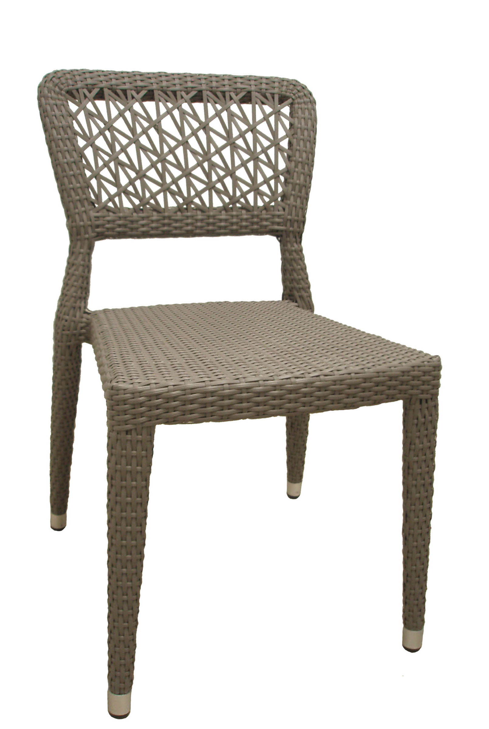 AL-5699-01-R OSAKA SIDECHAIR GREY REEDED